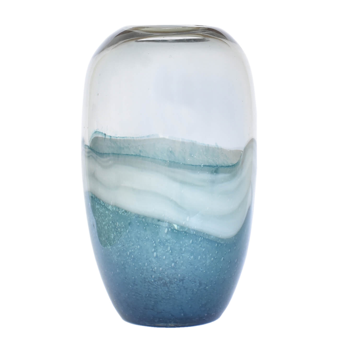 Vaso Azul Mesoblue G 32,5 Cm