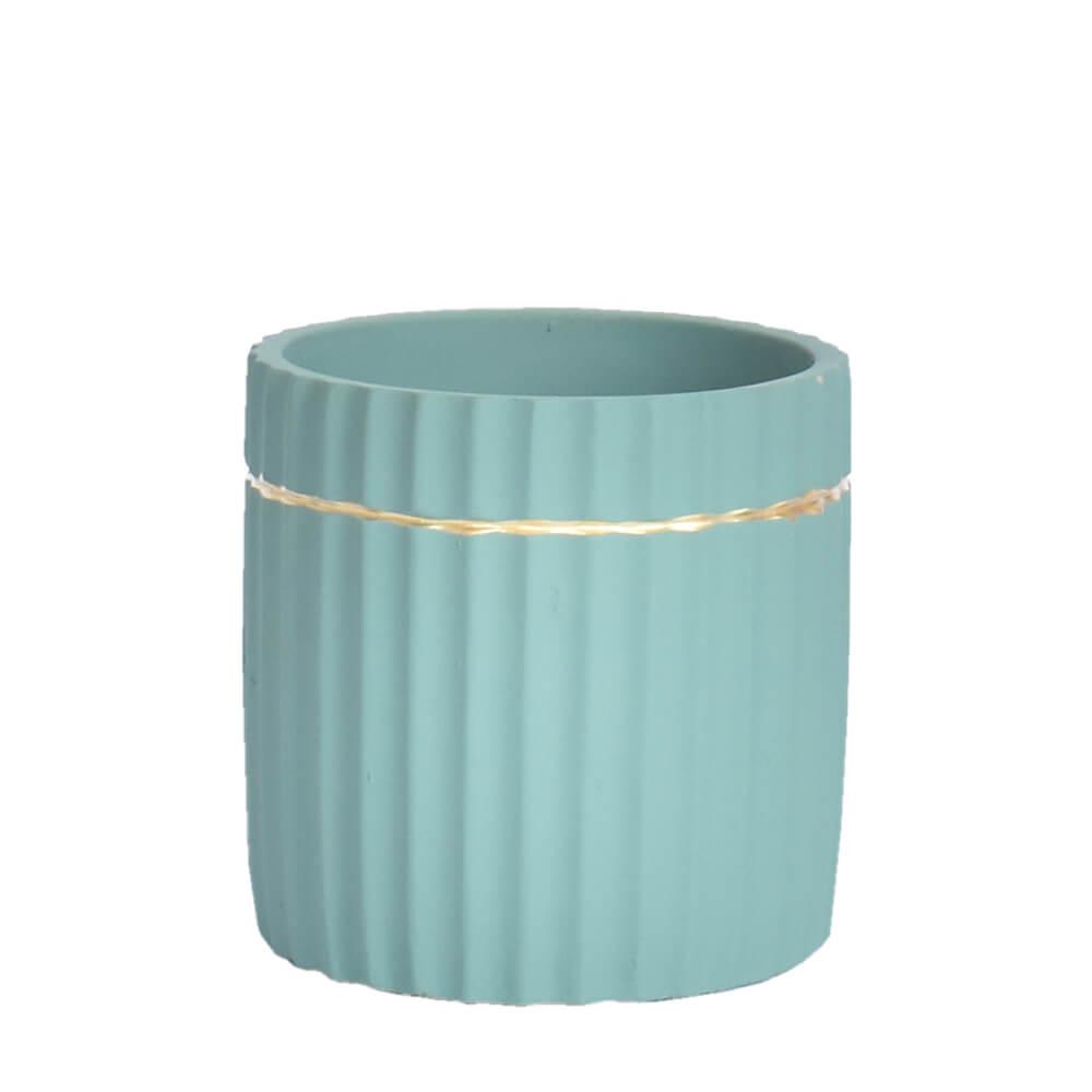 Vaso Azul Sordek 12 Cm