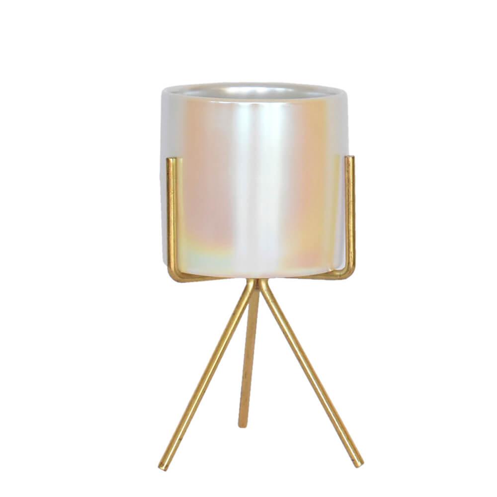 Vaso Branco Alfam G 16 Cm