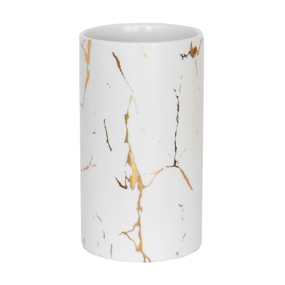 Vaso Branco Lacron G 14 Cm