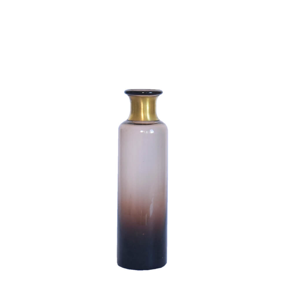 Vaso Degradê Marrom Makkena M 20,5 Cm