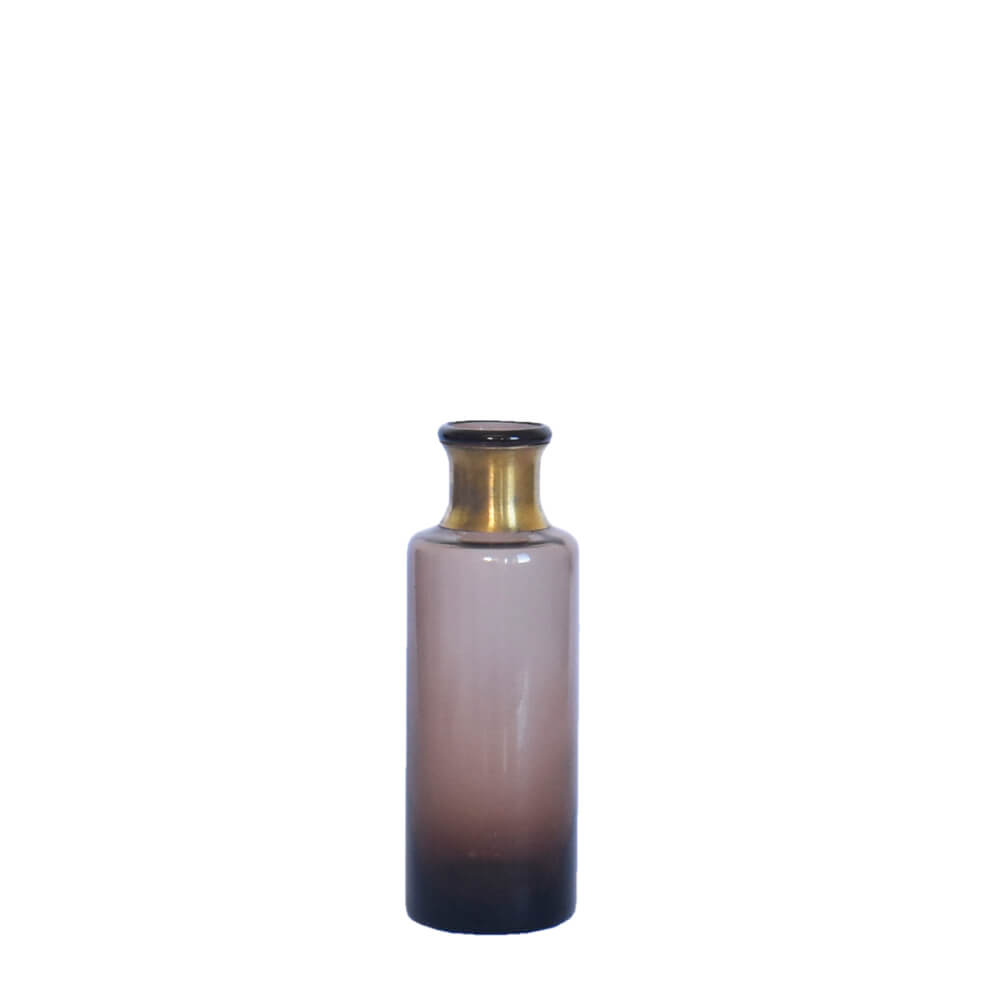 Vaso Degradê Marrom Makkena P 16,5 Cm
