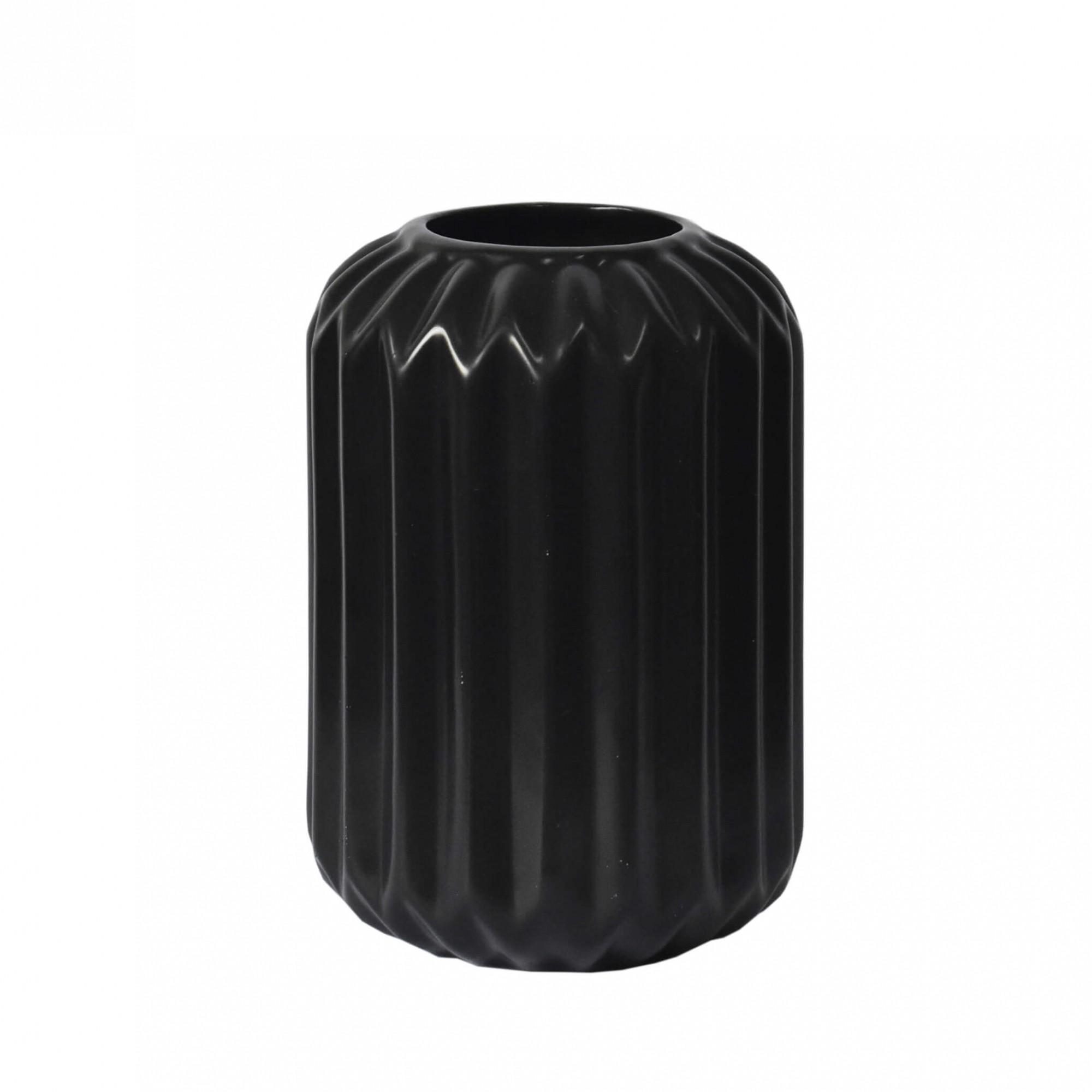 Vaso Preto Montesi G 17,5 Cm