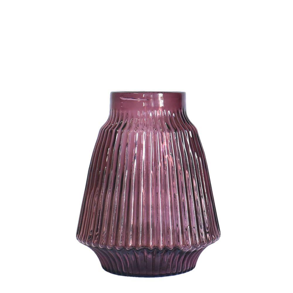 Vaso Roxo Castella P 22,5 cm