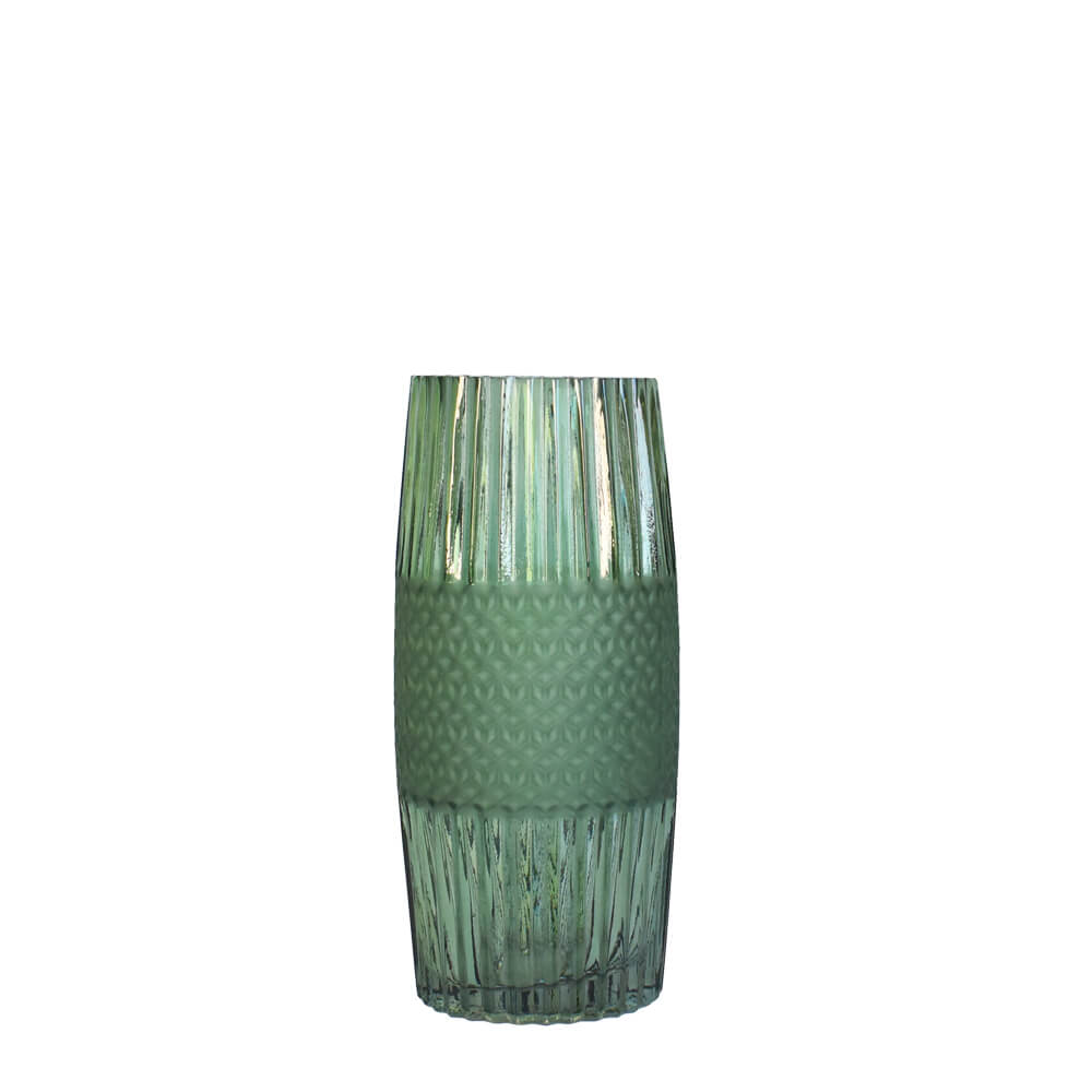 Vaso Verde Absalon Fosc P 24,5 Cm