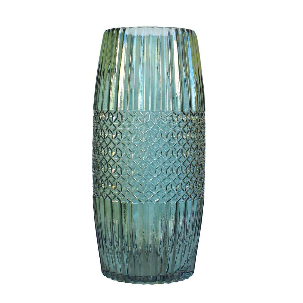 Vaso Verde Absalon G 33,5 Cm
