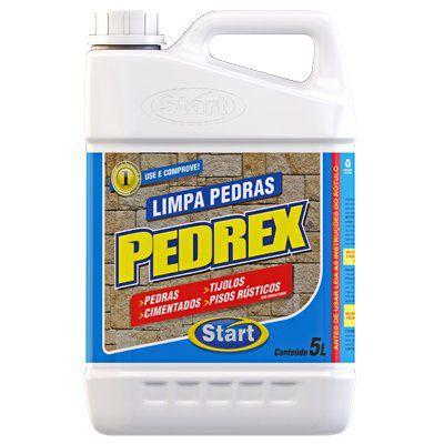 PEDREX - DETERGENTE ÁCIDO - LIMPA PEDRAS 5 LITROS  - PÓS OBRA