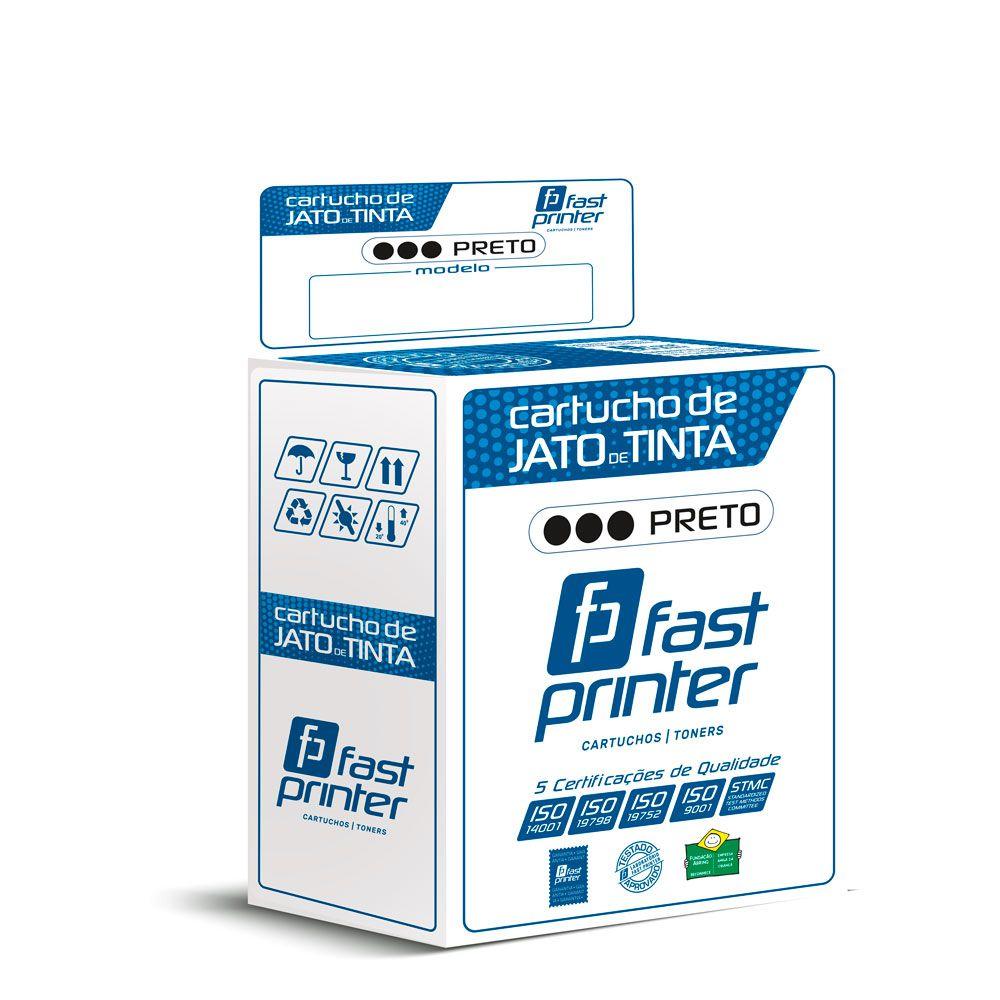 Cartucho de tinta Compatível com HP C6615D 615|710C PSC-500 810C| Preto 25ml