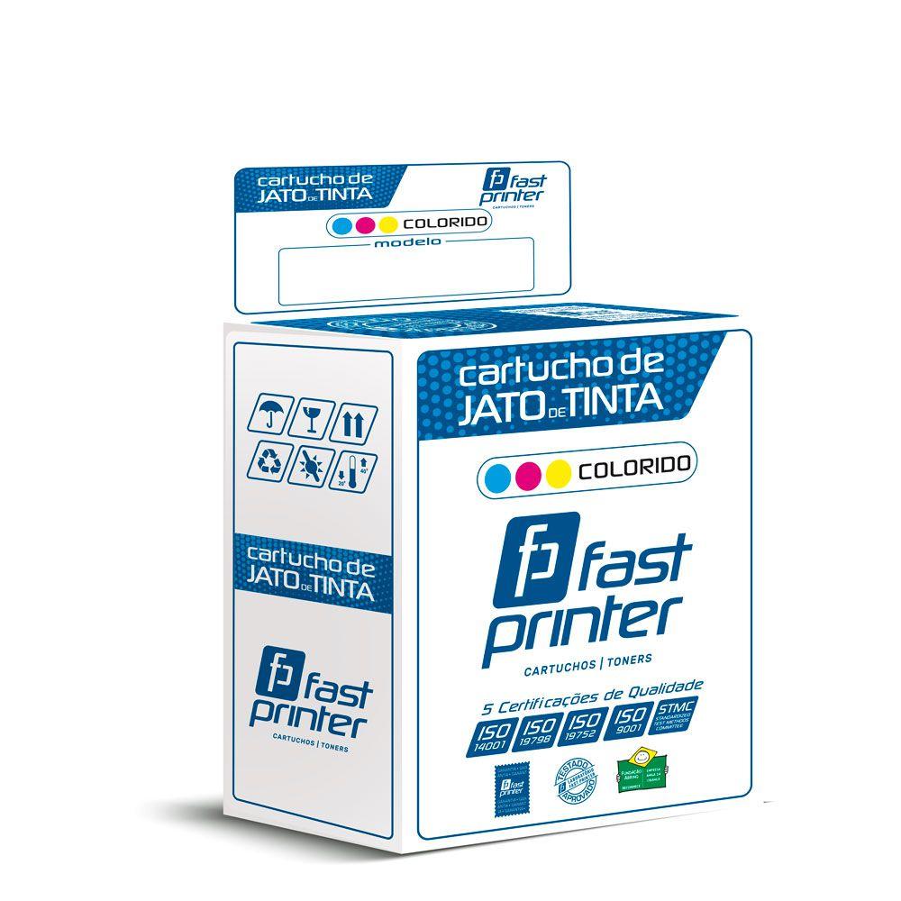 Cartucho de Tinta Compatível com HP 17 C6625A |710C 840 |Colorido 24ml