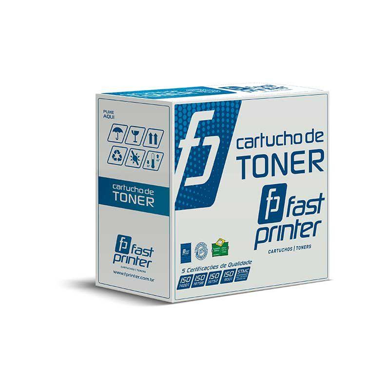 Toner Compatível com HP CE255X CE255XB | P3015N P3015D P3015DN P3015X M525F | Preto 12.5k