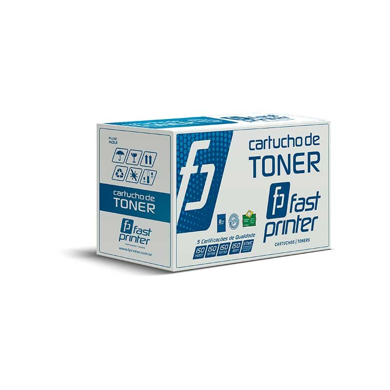 Toner Compatível com HP Q2612A| 2612A 12A| 1010 1012 1015 1018 1020 1022 3015 3030 3050| Preto 2k