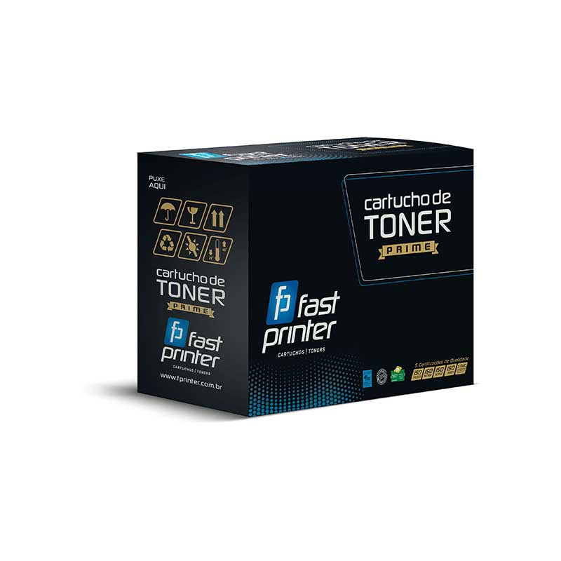 Toner Fast Printer 3400LA| 3500 3510 3410| Preto 2.5k