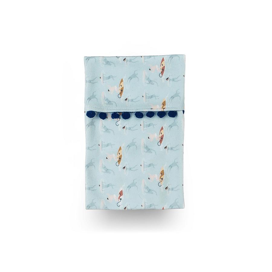 Bolsa Térmica de Sementes - Coleção Surfista Azul