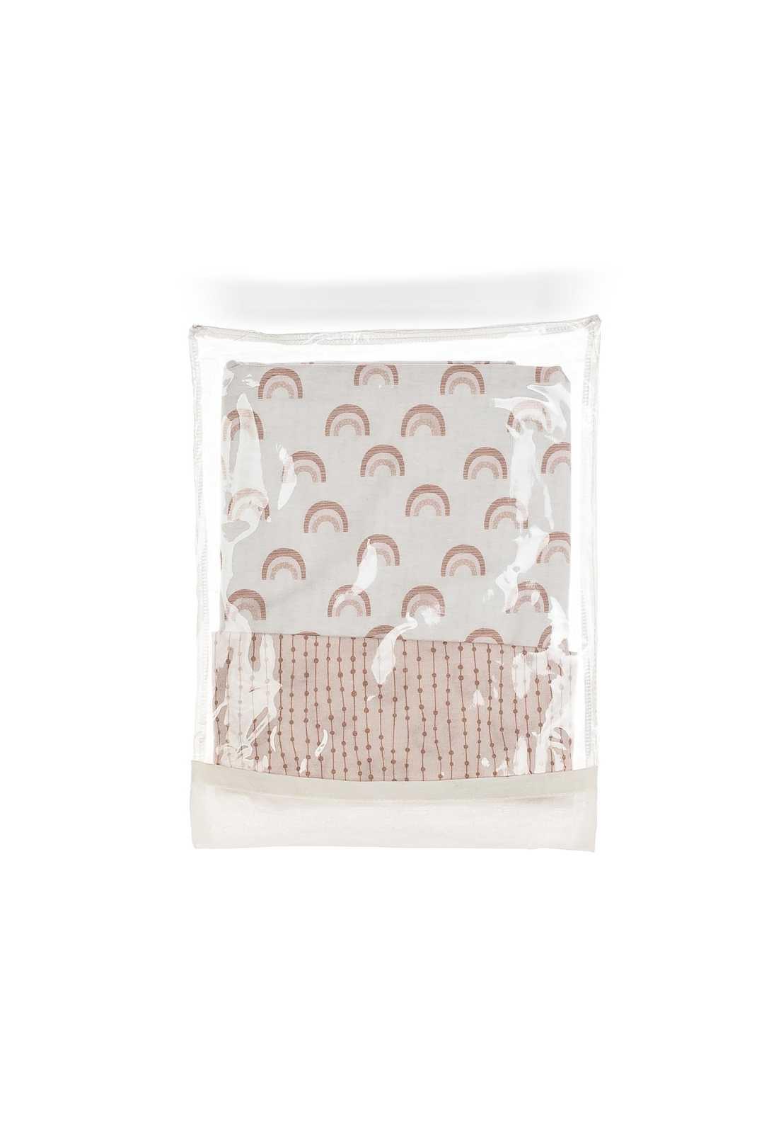 Capa de Ninho em Malha Estampada Minimalista - Coleção Borboletas