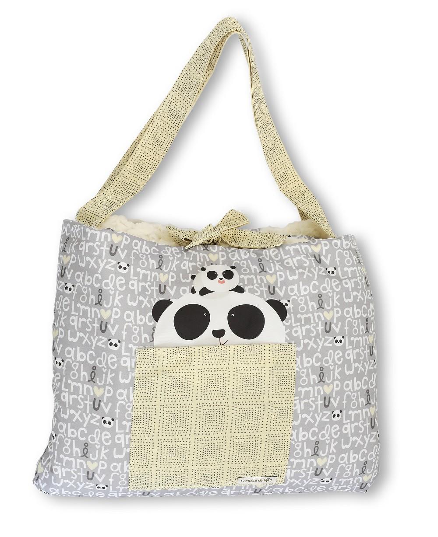 Colchonete de Passeio Peluciado - Coleção Panda