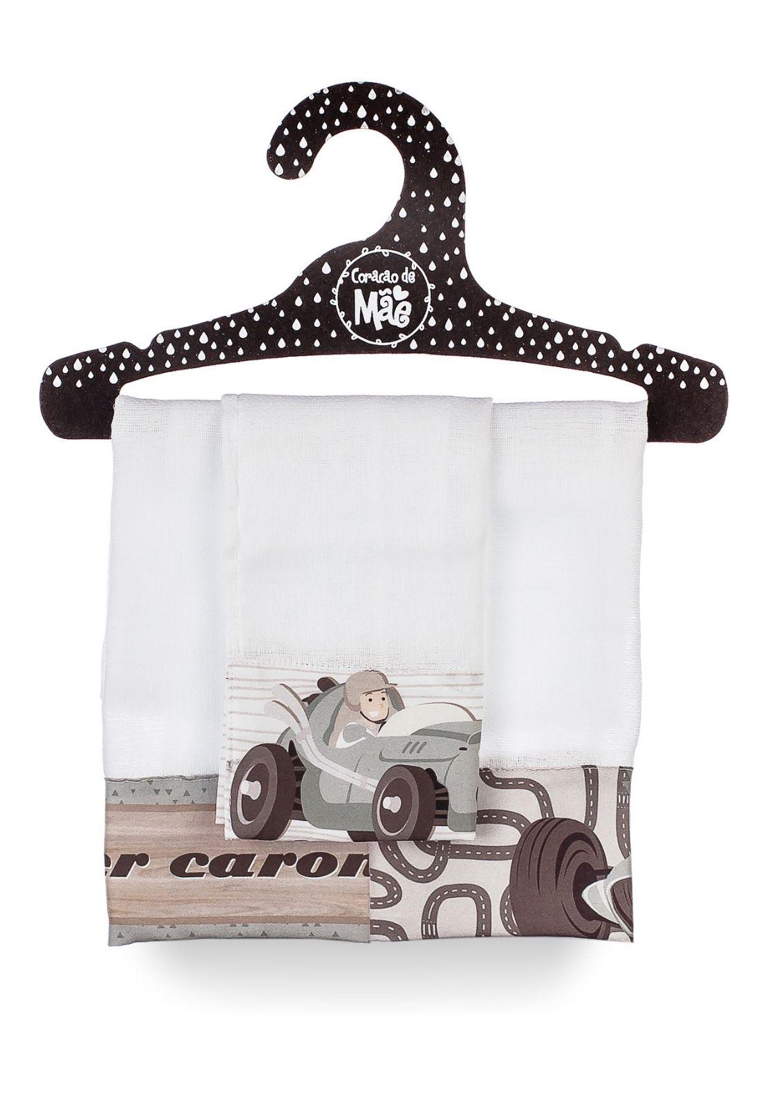 Kit 03 Babitas - Coleção Carros Antigos
