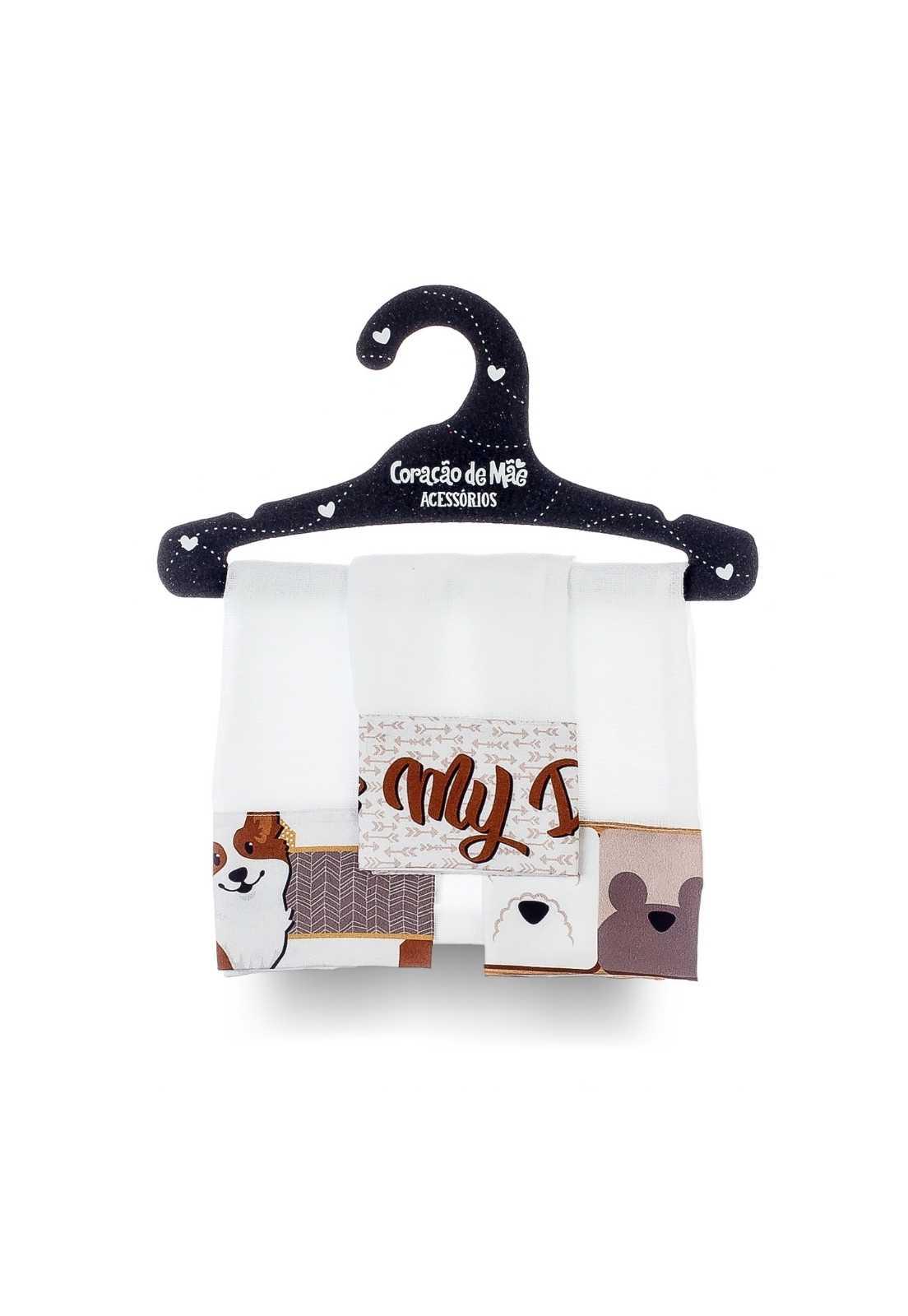 Kit 03 Babitas - Coleção Dogs
