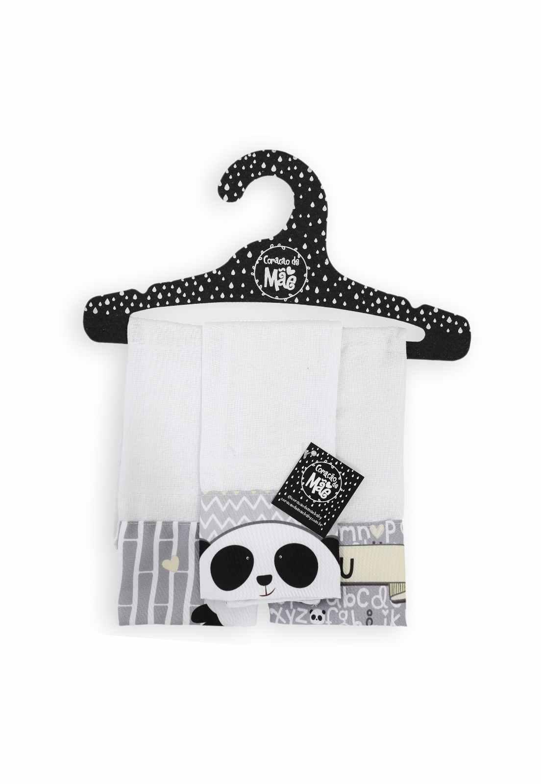 Kit 03 Babitas - Coleção Panda