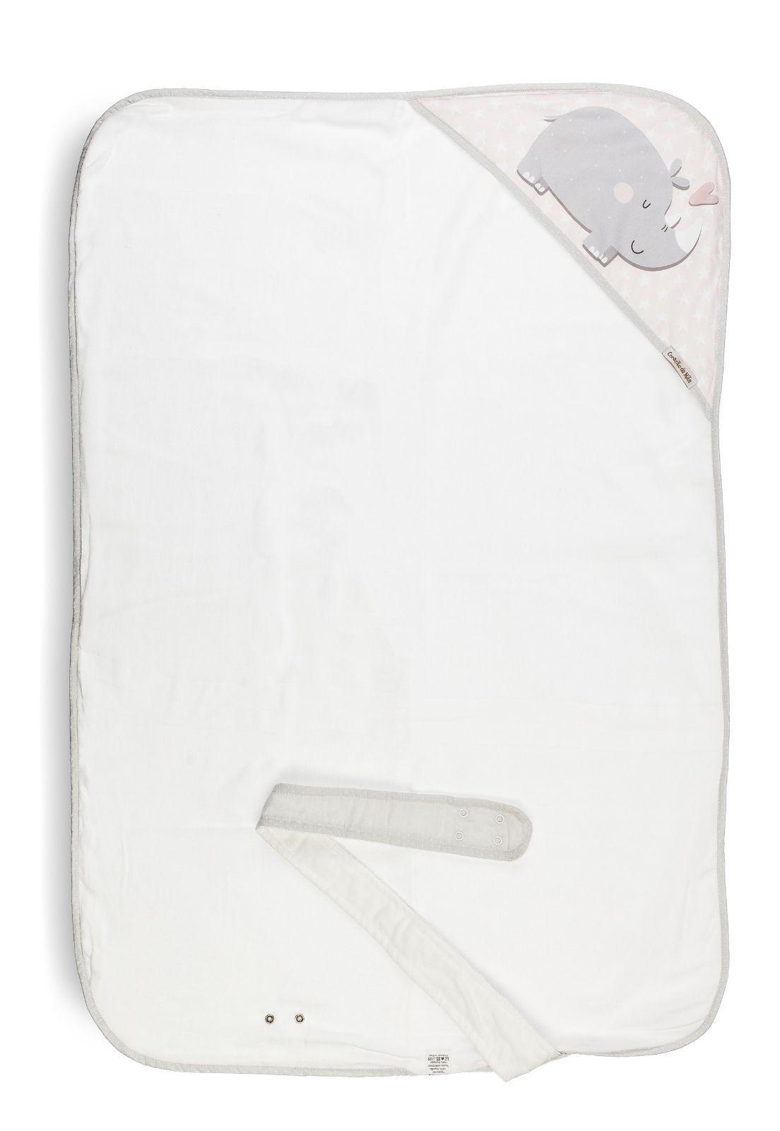 Toalha-Avental - Coleção Flamingo Rosa