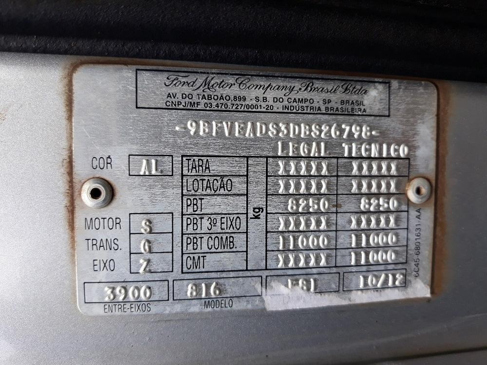 Ford Cargo 816e