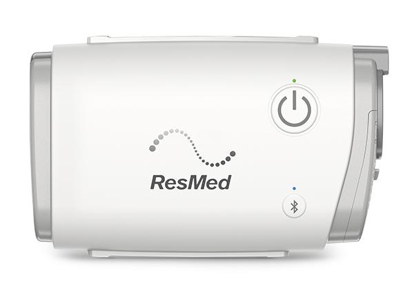 CPAP Automático Portátil AirMini  ResMed + Máscara P10 completa para Airmini Resmed