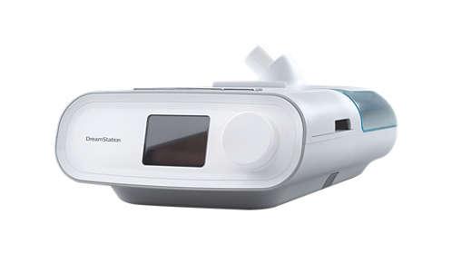 CPAP Dreamstation Auto Philips + Umidificador + MÁSCARA NASAL DreamWisp com almofadas P, M,G Philips