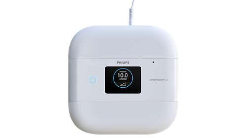 CPAP Dreamstation Go Auto com Bluetooth Philips + Máscara Nasal DreamWear com almofadas P, M,G Philips