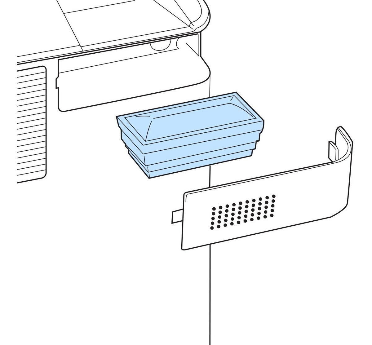 Filtro de Entrada p/ Everflo Philips Respironics