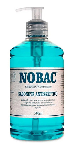 SABONETE ANTISSEPTICO  NOBAC C/ APLIC  500ML