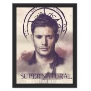 Placa Quadro Poster Minimalista Dean Winchester