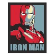 Placa Quadro Poster Minimalista  Iron Man