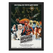 Placa Quadro Poster Minimalista Star Wars ALE