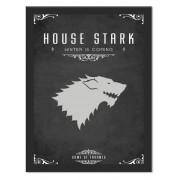 Placa Quadro Poster Minimalista Stark Casa