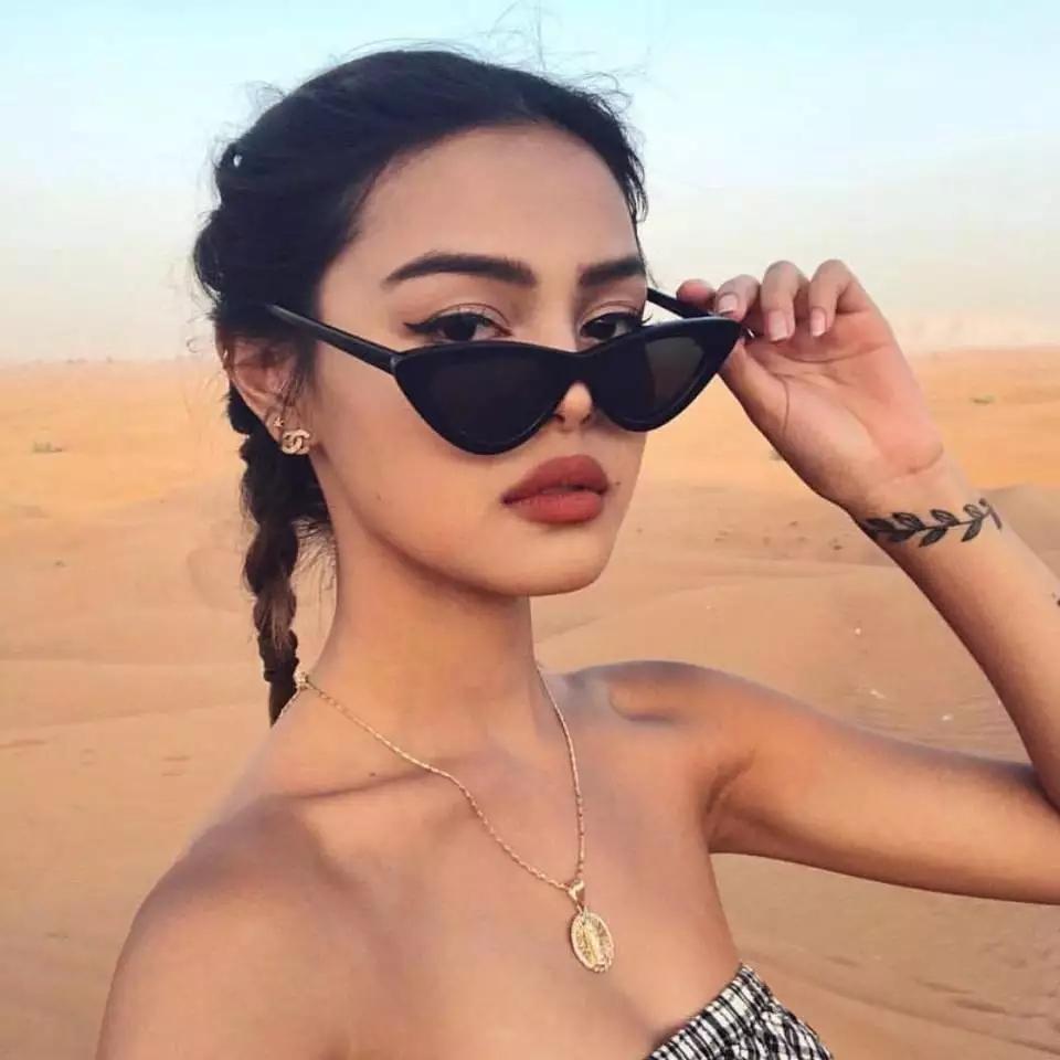 Oculos de Sol Feminino Gatinho Retro