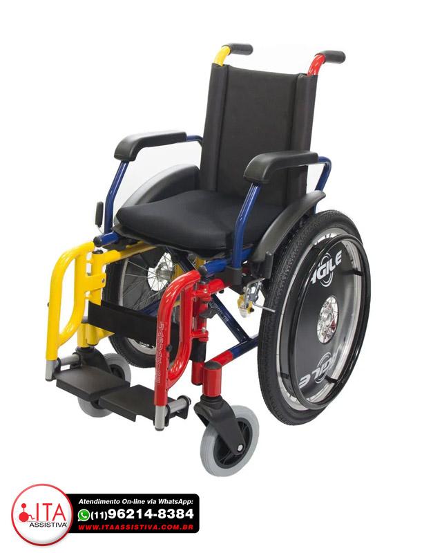 Cadeira de Rodas Ágile infantil - Jaguaribe