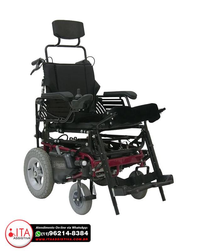 Cadeira de Rodas Stand Up - Motorizada