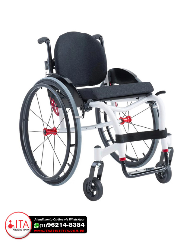 Cadeira de Rodas Star Lite PREMIUM - Ortobrás