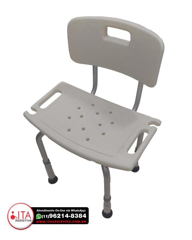 Cadeira Ortopédica de Banho para Acessibilidade - Ref.: AC3006