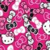 7 hello kitty rosa