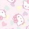 8 hello kitty branco