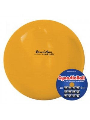 Gynastic Ball Ø75cm - c/DVD de Exercícios