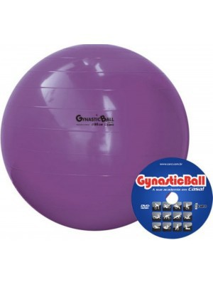 Gynastic Ball Ø95cm - c/DVD de Exercícios