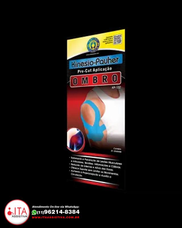Kinésio Pauher - Aplicação no Ombro - KPKP132