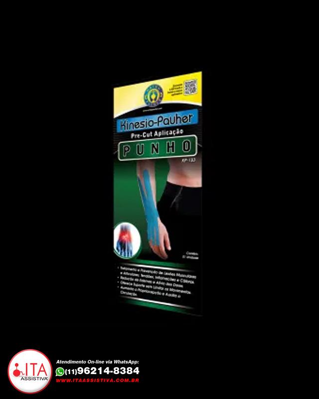 Kinésio Pauher - Aplicação no Punho - KP133