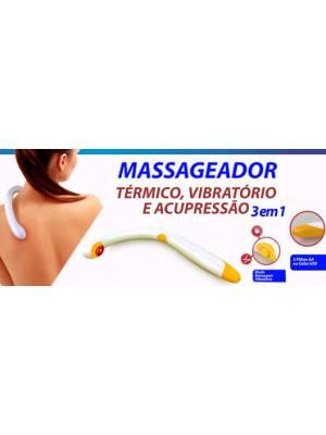 Massageador Ergonômico 3 em 1 - Ref.: MG01
