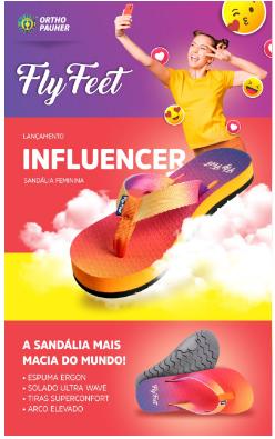 Sandálias Fly Feet