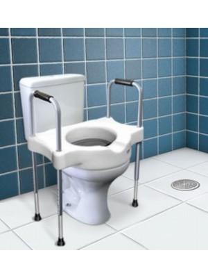 SIT V - Elevador de Assento sanitário com Alças Reguláveis.