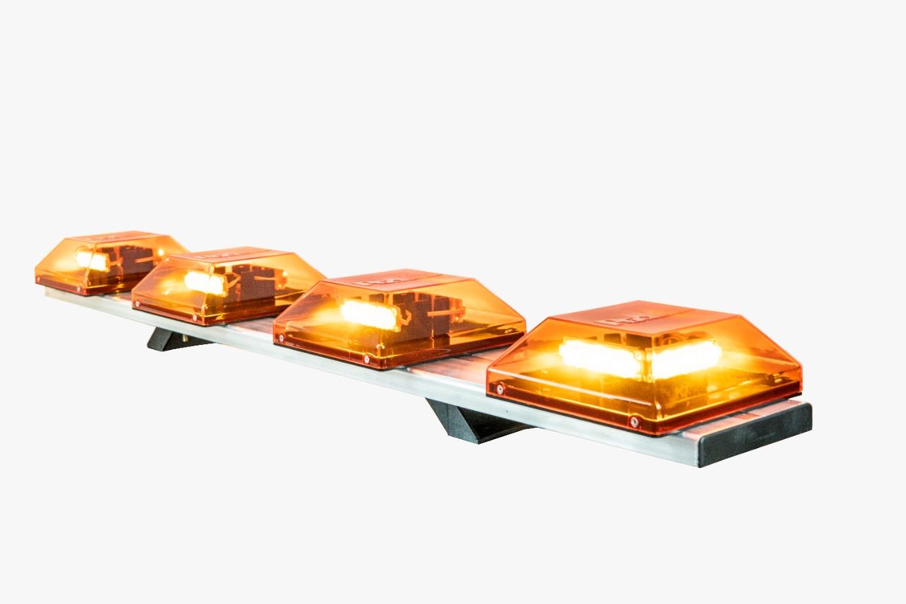 Giro-flex Linear 4 cupulas 1,22m