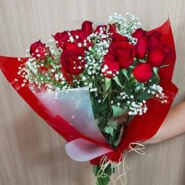 Buquê de Rosas - Paixão de Mulher