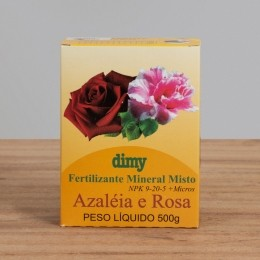Fertilizante Mineral NPK 09-25-05 Azaleia / Rosa - Dimy